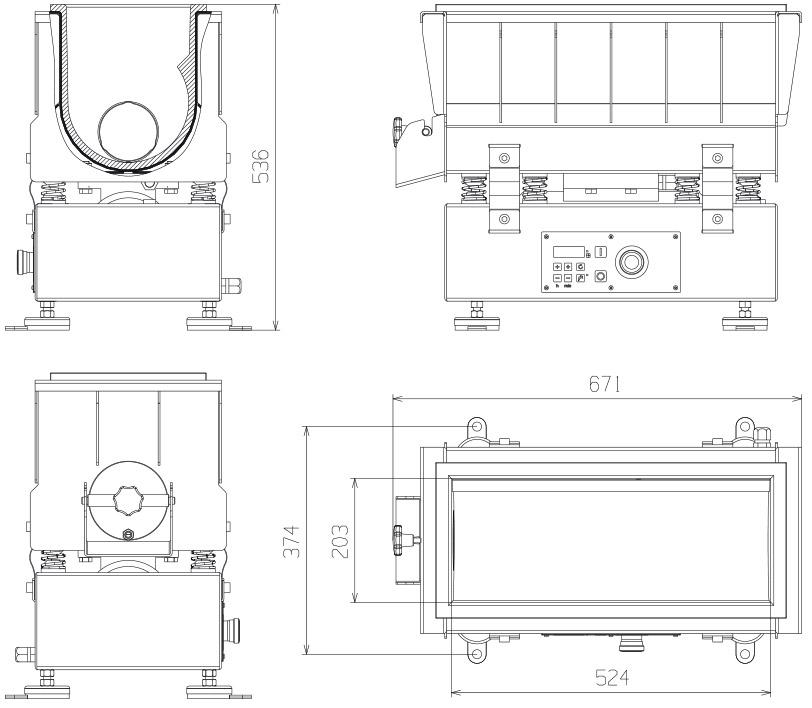 MMTV 5321 technische Zeichnungen
