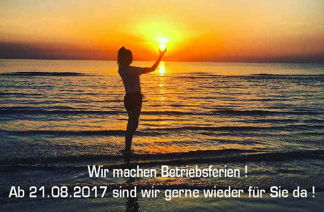 Urlaub 2017